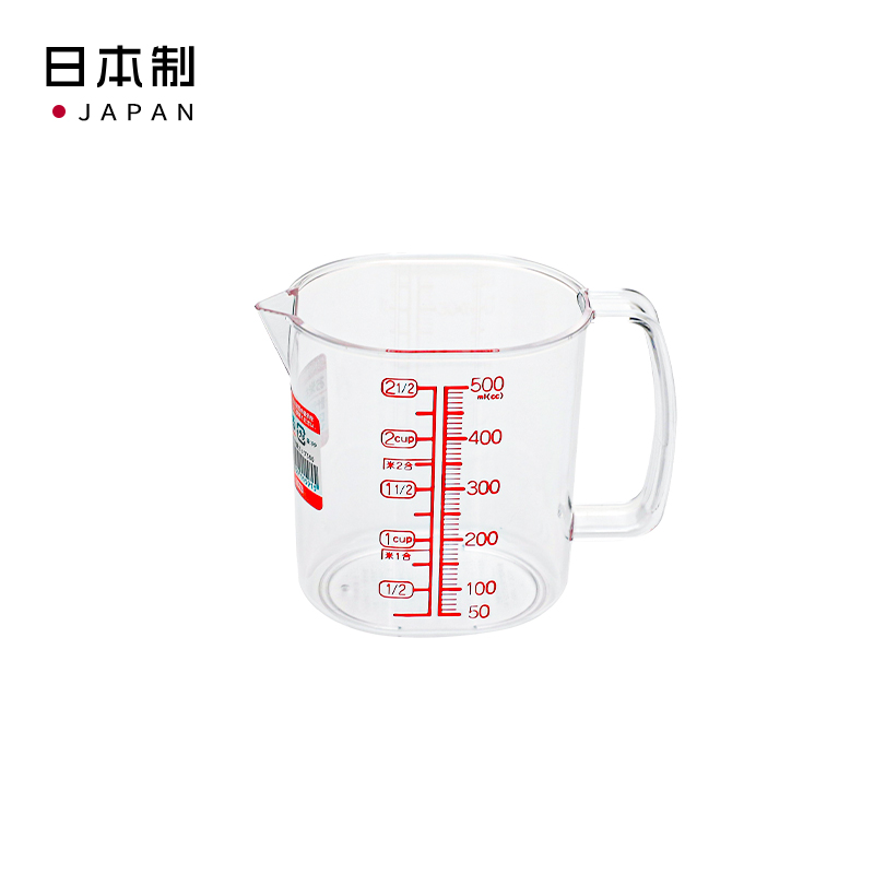 NAKAYA日本計量杯570ml塑料量杯