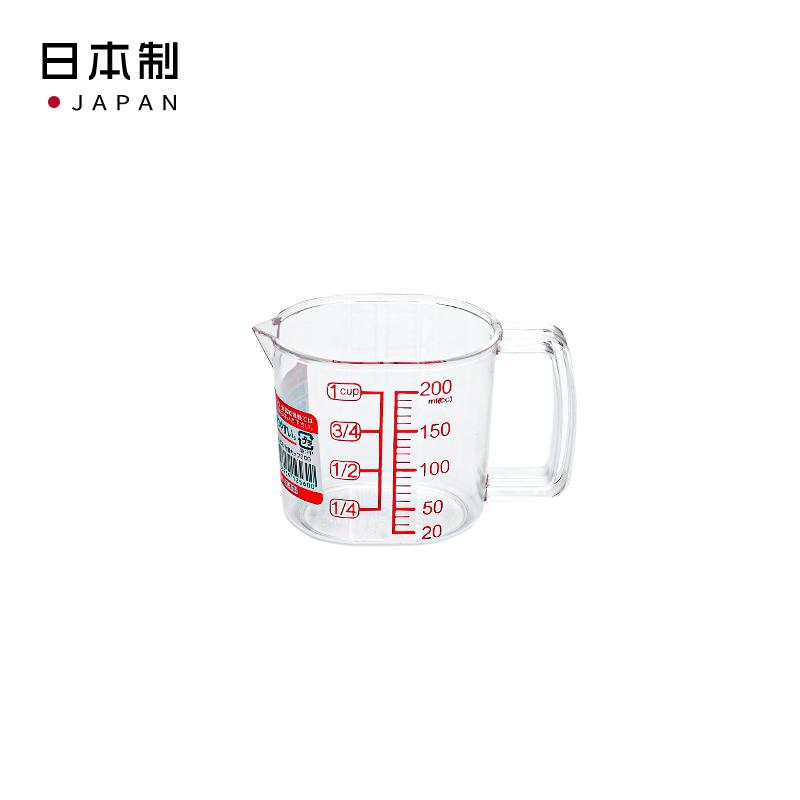 NAKAYA日本計量杯240ml塑料量杯