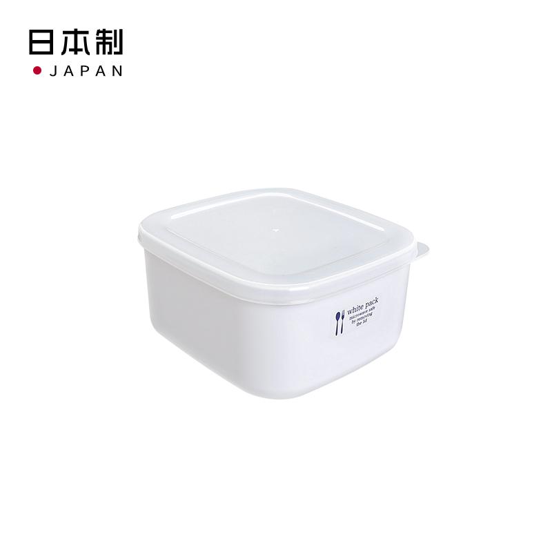 NAKAYA日本纯白色保鲜盒700 (M)塑料保鲜盒