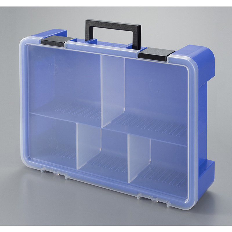 JEJ日本乐高等零件多格收纳盒 (付隔板 LF2枚、LLF1枚) 大2,小3格