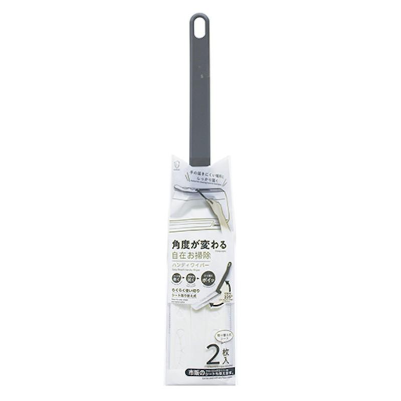 KOKUBO日本可调节弯度的除尘刷付2张除尘纸