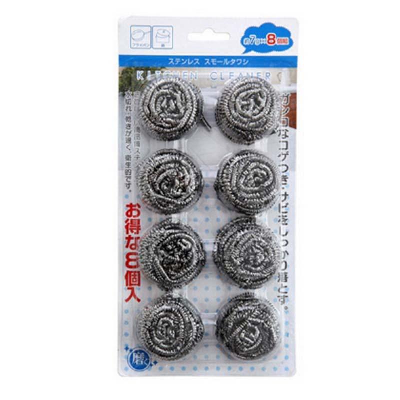 ✖ECHO日本清潔球鋼絲球鋼絲刷 8個入(廢盤)