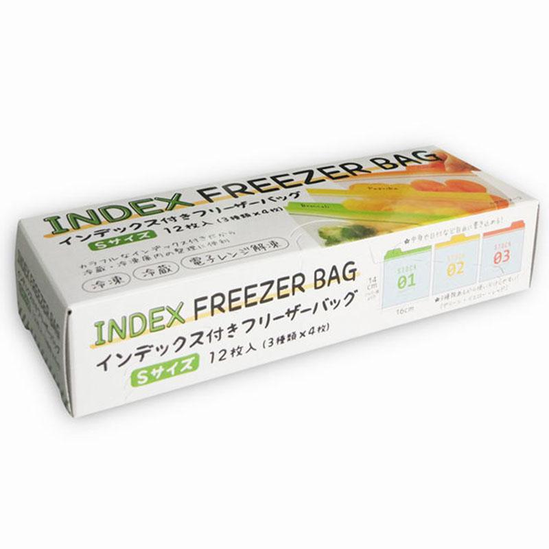 MARUKI日本密封保鲜袋12枚❤