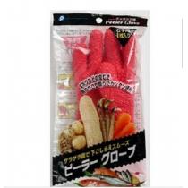 POCKET日本蔬菜去皮手套塑料去皮手套