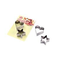 ECHO日本迷你饼干型2P(心形和星)