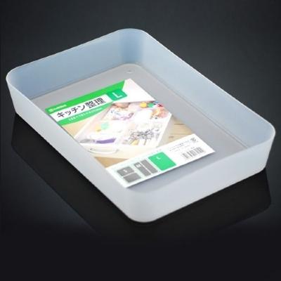 NAKAYA日本多用途收纳盘 整理盒 果蔬盘 大号(价格之前标错,有上调,下单注意)