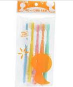 FINE日本baby牙刷硬毛(5个入)(该商品仅做现货不接预定单,请知悉!!!)