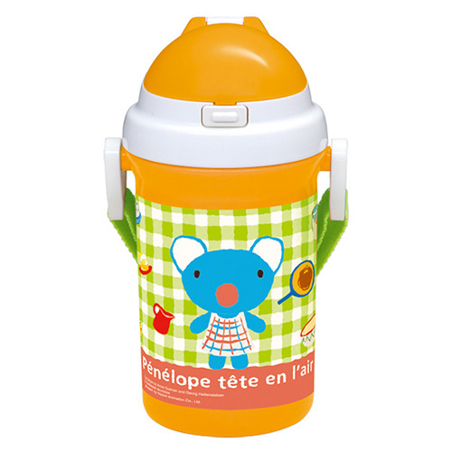 小森树脂日本儿童水杯 橙色