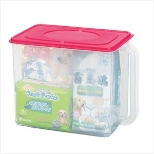 INOMATA日本米桶 米箱 置物收纳箱 带手柄收纳盒