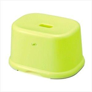 INOMATA日本卫浴防滑凳 中号 绿色