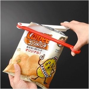 INOMATA日本塑料封口夹