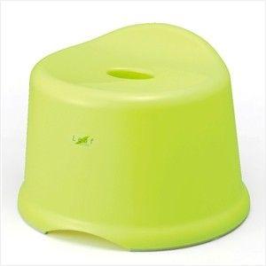 INOMATA日本卫浴防滑凳 大号 绿色塑料防滑凳