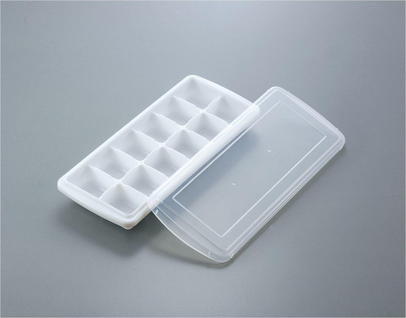 sanada日本12格带盖冰格