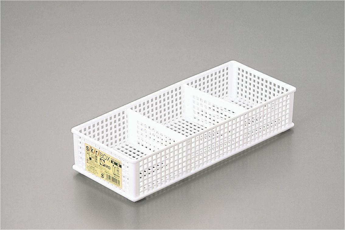 sanada日本三格整理筐整理盒