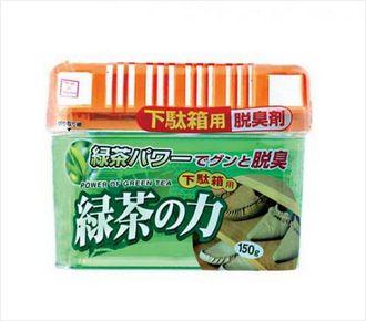 【控价】kokubo日本绿茶力之 鞋架用脱臭剂150g