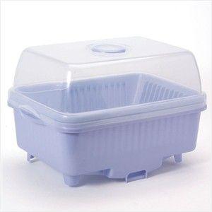 sanko日本带盖餐具沥水架大号