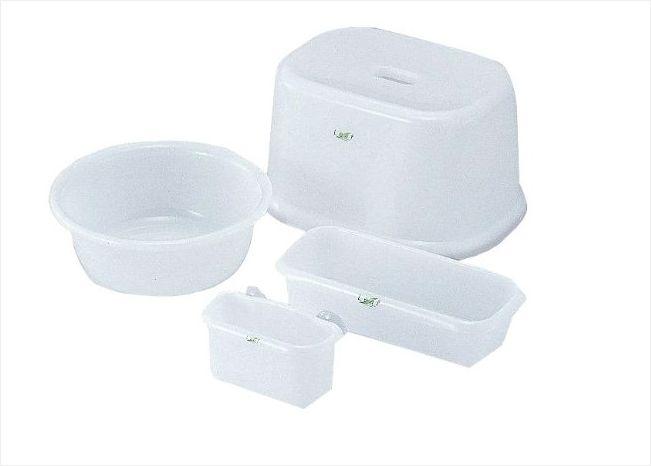 INOMATA日本洗浴用品4件套装(白色)