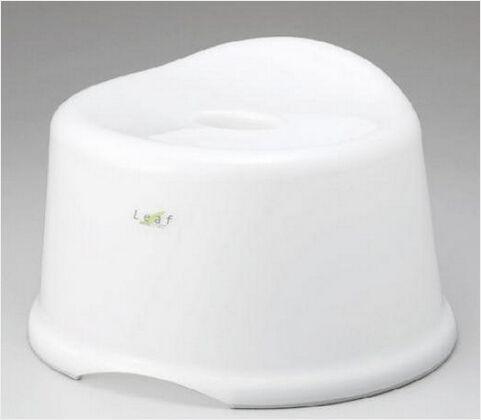 INOMATA日本卫浴防滑凳 大号 白色