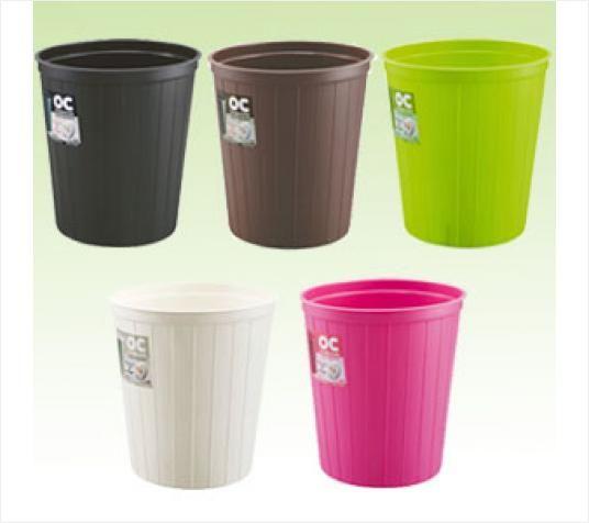 fudogiken日本废纸篮大号塑料垃圾桶