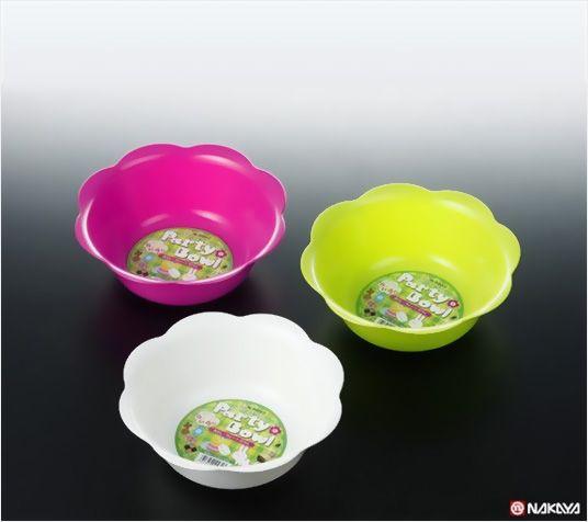 NAKAYA日本花形水果盘(混色)水果盘
