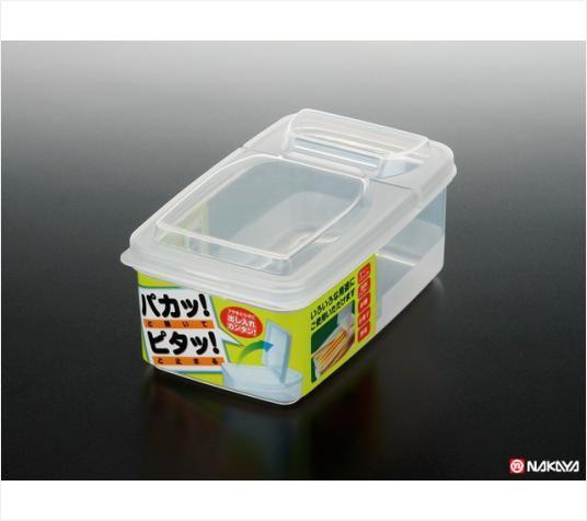 NAKAYA日本半开式密封盒500ml
