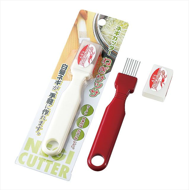 ECHO日本洋葱切丝器(红白混色)