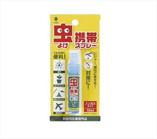 【控价】KOKUBO日本便携防虫喷雾剂12ml(该商品仅做现货不接预定单,请知悉!!!)