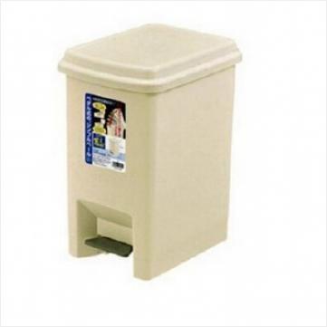 fudogiken日本有盖垃圾桶脚踏翻盖塑料垃圾桶