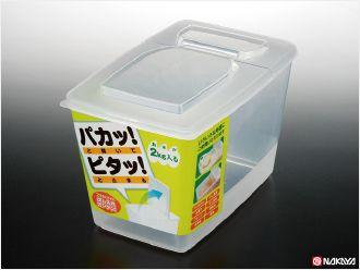 NAKAYA日本半开式密封米桶
