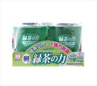 【控价】kokubo日本卵形 绿茶之力 冰箱用除臭剂冰箱除臭剂
