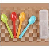 ✪INOMATA日本儿童小勺子 调料勺子 餐勺子