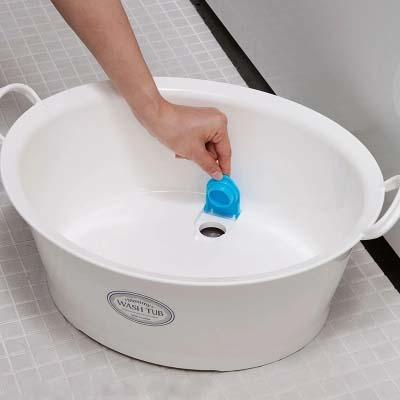 INOMATA日本家用婴儿洗脸盆洗衣盆清洗盆加厚