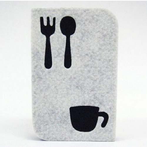 TOWA日本可爱厨房用清洁海绵(白色)