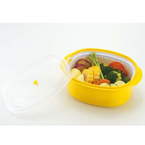 IMOTANI日本微波炉蒸菜器微波炉蒸饭盒