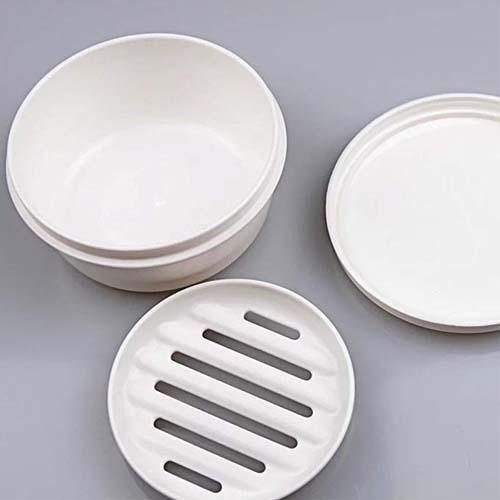 INOMATA日本可携带密封收纳盒肥皂盒