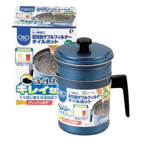 PEARL日本带活性炭过滤器的滤油,储油罐
