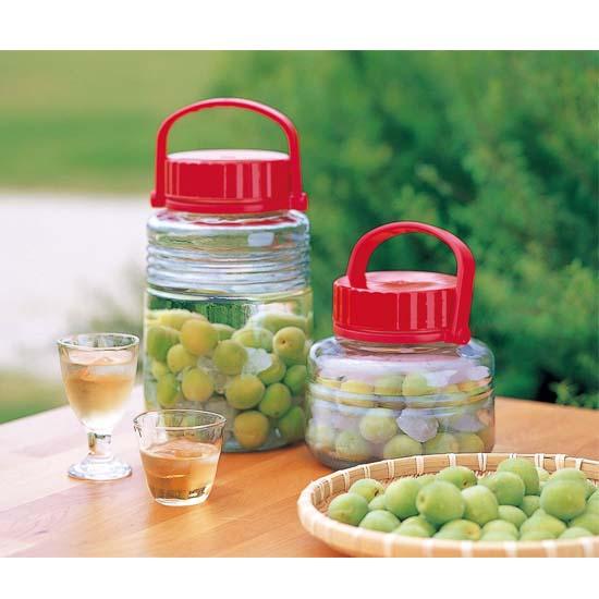 ADERIA日本石V泡酒玻璃瓶青梅酒密封罐药酒酵素桶 葡萄酒果酒瓶 泡菜罐8L(工厂价格上调,下单请注意20200325