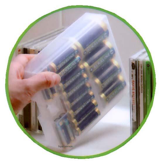 【控价】KOKUBO日本电池储存收纳箱