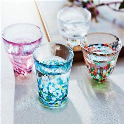 ADERIA日本津轻玻璃 四季之杯(套装)#玻璃水杯套装