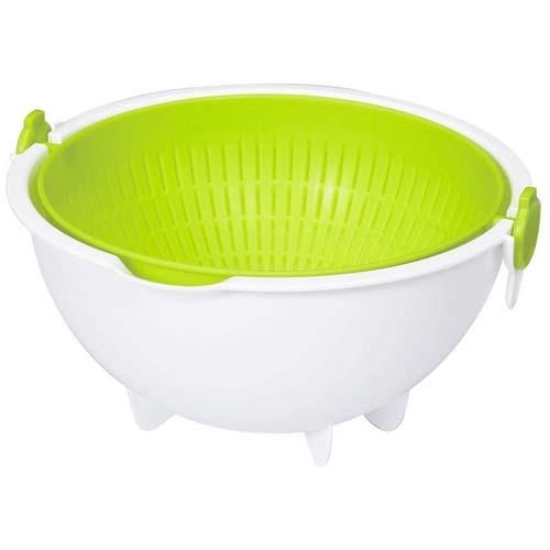 【控价】KOKUBO日本滤水塑料蔬菜篮(大号)