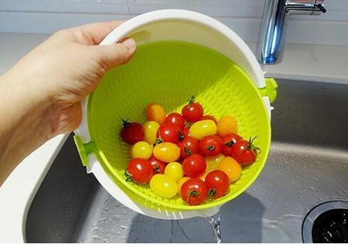 【控价】KOKUBO日本滤水塑料蔬菜篮小