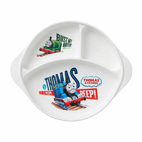 THOMAS(托马斯火车)正规授权日本儿童3格小餐盘