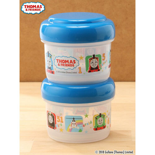 THOMAS(托马斯火车)正规授权日本儿童小便当盒150ml*2