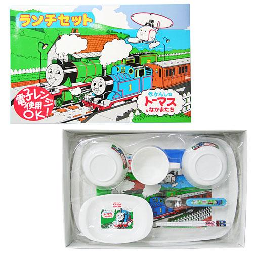 THOMAS(托马斯火车)正规授权日本儿童7件套餐具