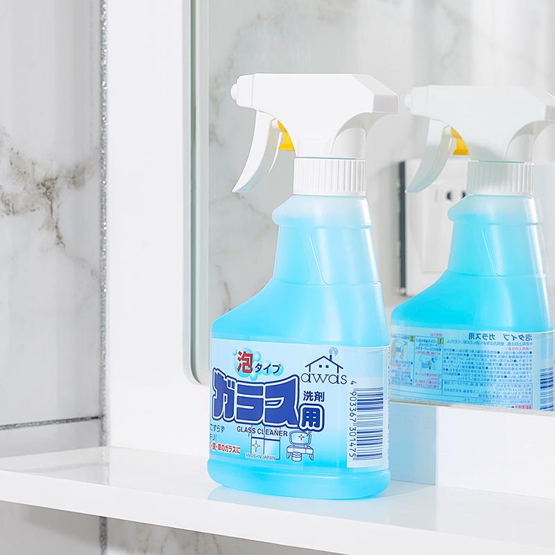 ROCKET日本玻璃清洁剂300ml(泡沫喷雾式)(该商品仅做现货不接预定单,请知悉!!!)玻璃清洁剂