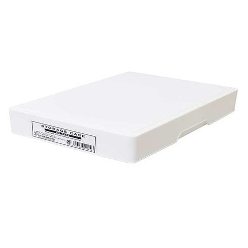 ✪SANADA日本进口A5文件收纳盒 桌面整理盒 化妆品收纳盒 冰箱收纳盒
