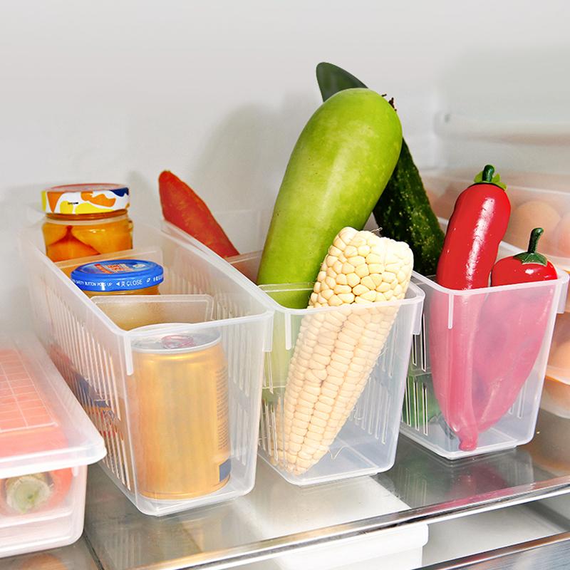 INOMATA日本冰箱分隔储藏框