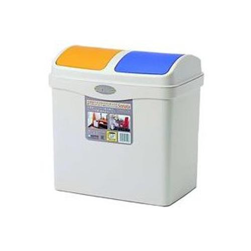 SANKO日本角型2箱分类垃圾桶20L#分类垃圾桶