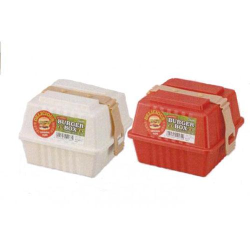 ✖INOMATA日本汉堡三明治保存便当盒 冰箱保鲜盒塑料保鲜盒