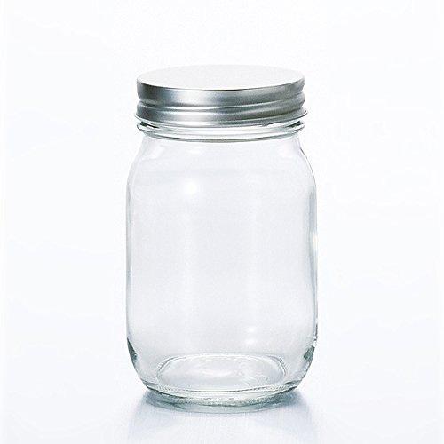 ADERIA日本银色瓶盖保存瓶450